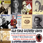 185- Old Time Country Shots (5 Octubre 2019)