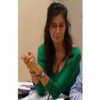 Rosa Mena de Lectures al Jardí en Radio Sants Montjuïc, programa Perspectivas