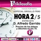 HORA 2/5. Entrevista a D. Alfredo Garrido + Precios tebeos y álbumes de cromos en los años 70