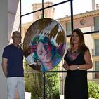 Entrevista a la pintora Luz López y a Joaquín Villegas, director del espacio de arte Menfis