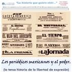 Historia de los periódicos mexicanos. 1a. parte