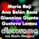 ANA BELEN BEAS, MARIA ROJI y GIANNINA GIUNTA en DISCORAMA # 270