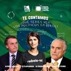 Series: ¿qué ven los políticos brasileños? - Radio La Pizarra - 13 abr 19