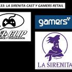 La Sirenita Cast y Gamers Retails, El Clip Podcast de Comics y Videojuegos