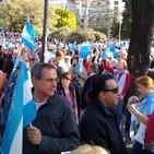 Radio La Pizarra en marcha de Macri - 28 sep 19
