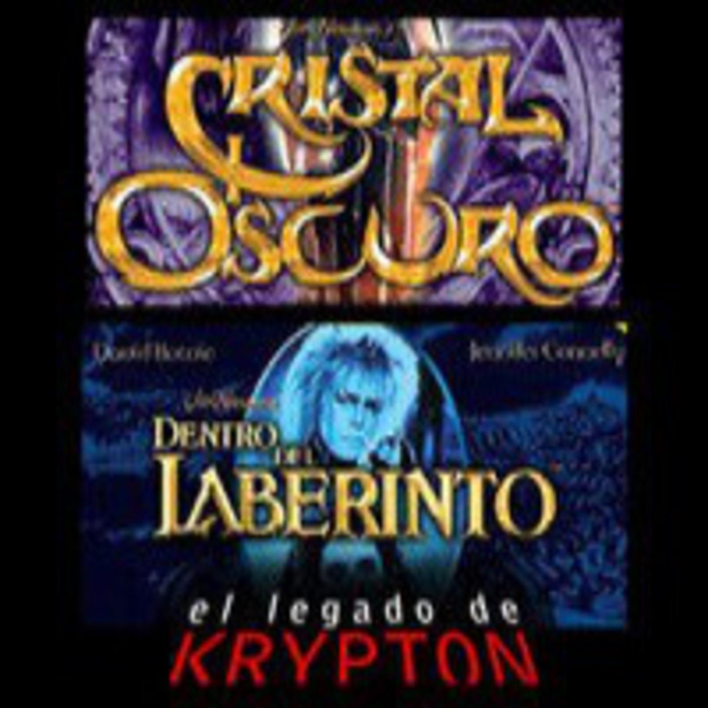 El legado de Krypton - Dentro del laberinto y El cristal oscuro