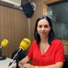Maite Gandía, la concejala de fiestas, en Radio Villena SER