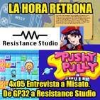 La Hora Retrona 4x05: Entrevista a Misato. De GP32 a Resistance Studio