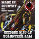 By Mauro Secchi (MAX) 28° Episode' MADE IN COUNTRY ' VOLUNTEER JAM XX- TRIBUTE TO CHARLIE DANIELS ""