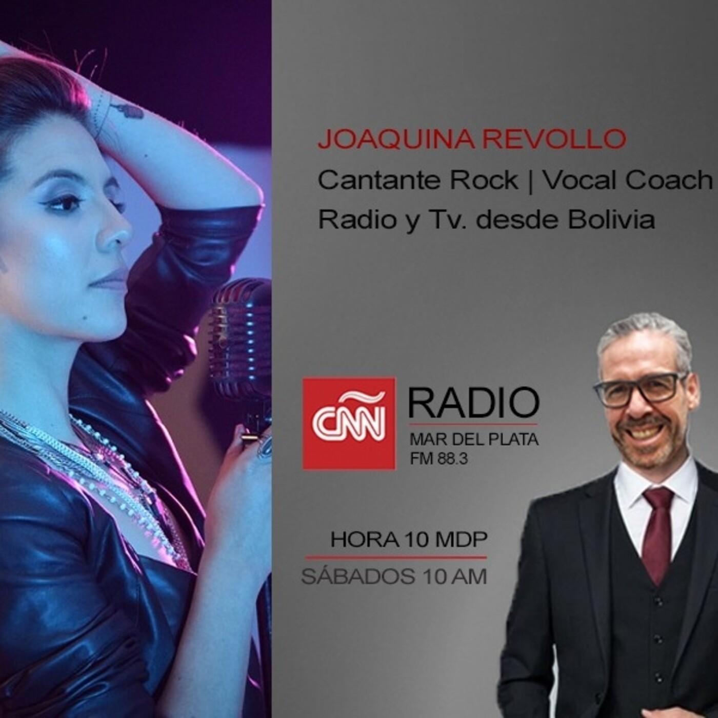Entrevista: JOAQUINA REVOLLO / Cantante. Bolivia.