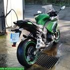 Aparcar la moto durante el frío