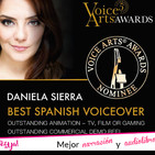 Daniela Sierra: Premiada en el Voice Arts Awards 2018
