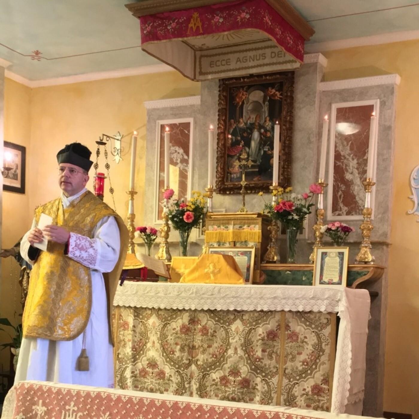 Homilía en la Fiesta de San Miguel Arcángel, por Don Ugolino Giugni (IMBC).