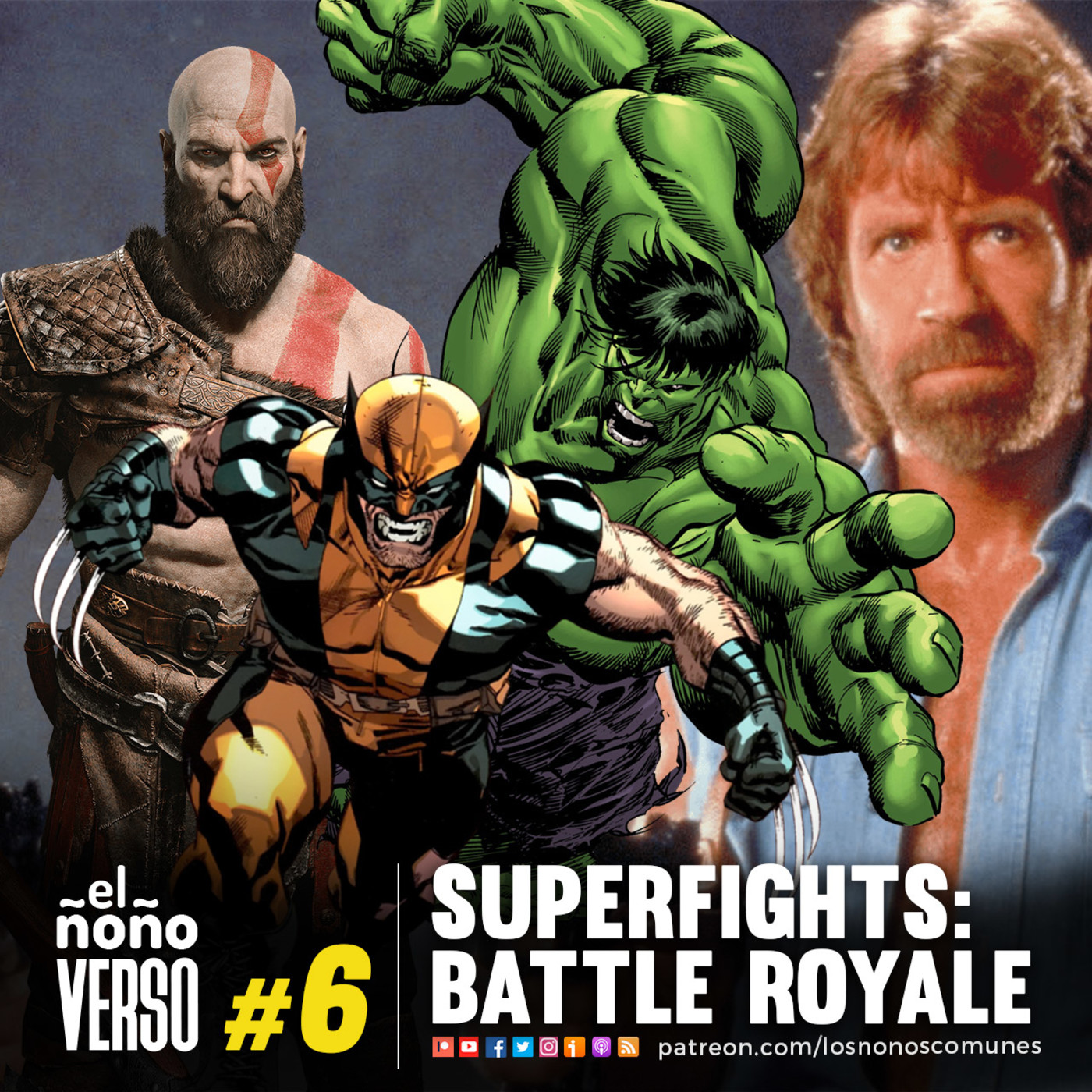 Ep 06: Superfights: Battle Royale