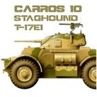 CARROS 10 #21 T17E1 Staghound, el sabueso explorador