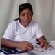 Mariela León Diez. Secretaria General de la CTC en Jobabo llama al rechazo de la Ley Helms-Burton