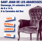 Diumenge 24 de setembre: 3r Mercat del Trasto a Sant Joan