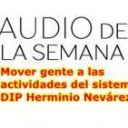 Audio de la semana - Mover gente a las actividades del sistema