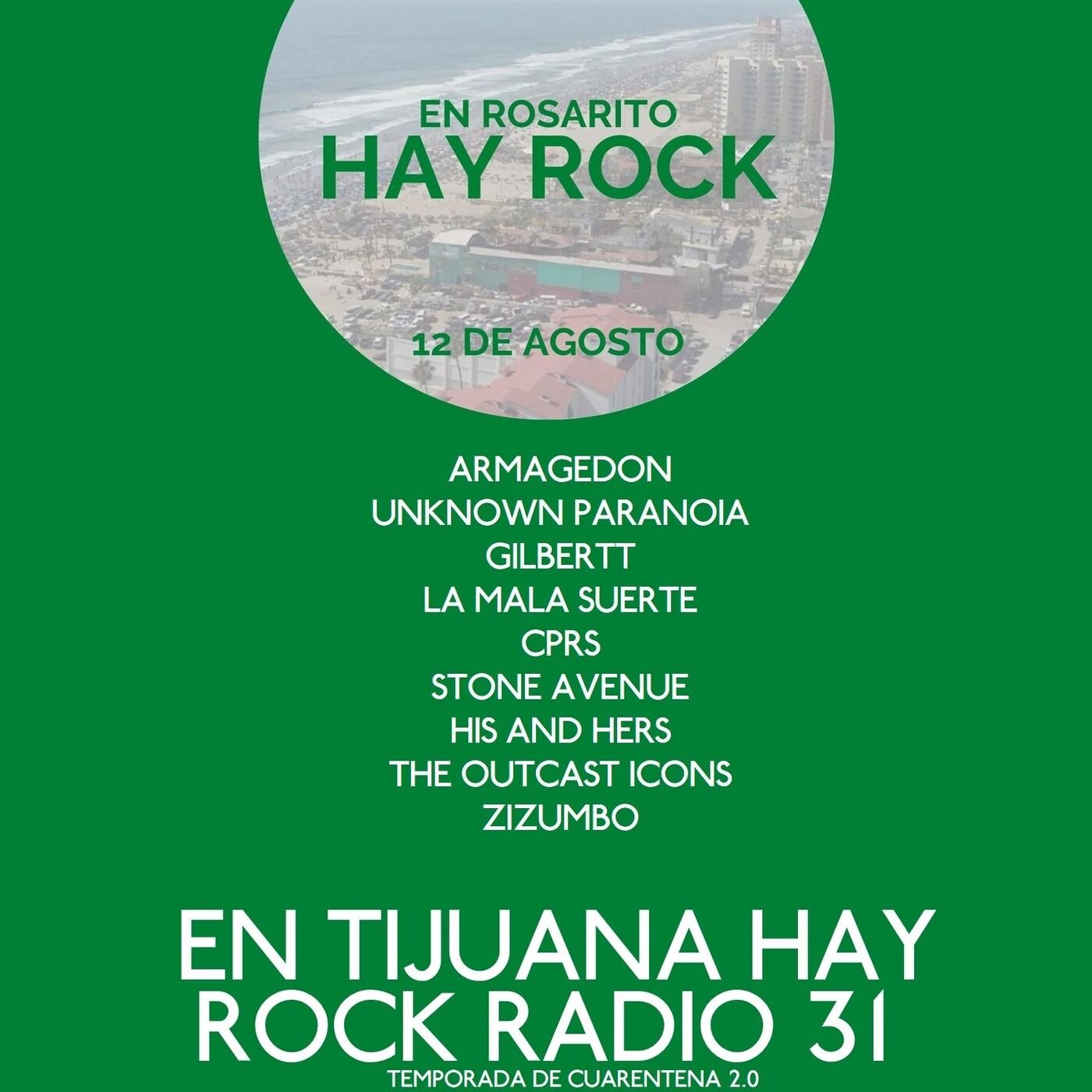 En Tijuana Hay Rock Radio - Temporada De Cuarentena 2.0 - 31: En Rosarito Hay Rock