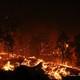 Una quema de rastrojos sin autorización provocó el conato en Tijarafe.