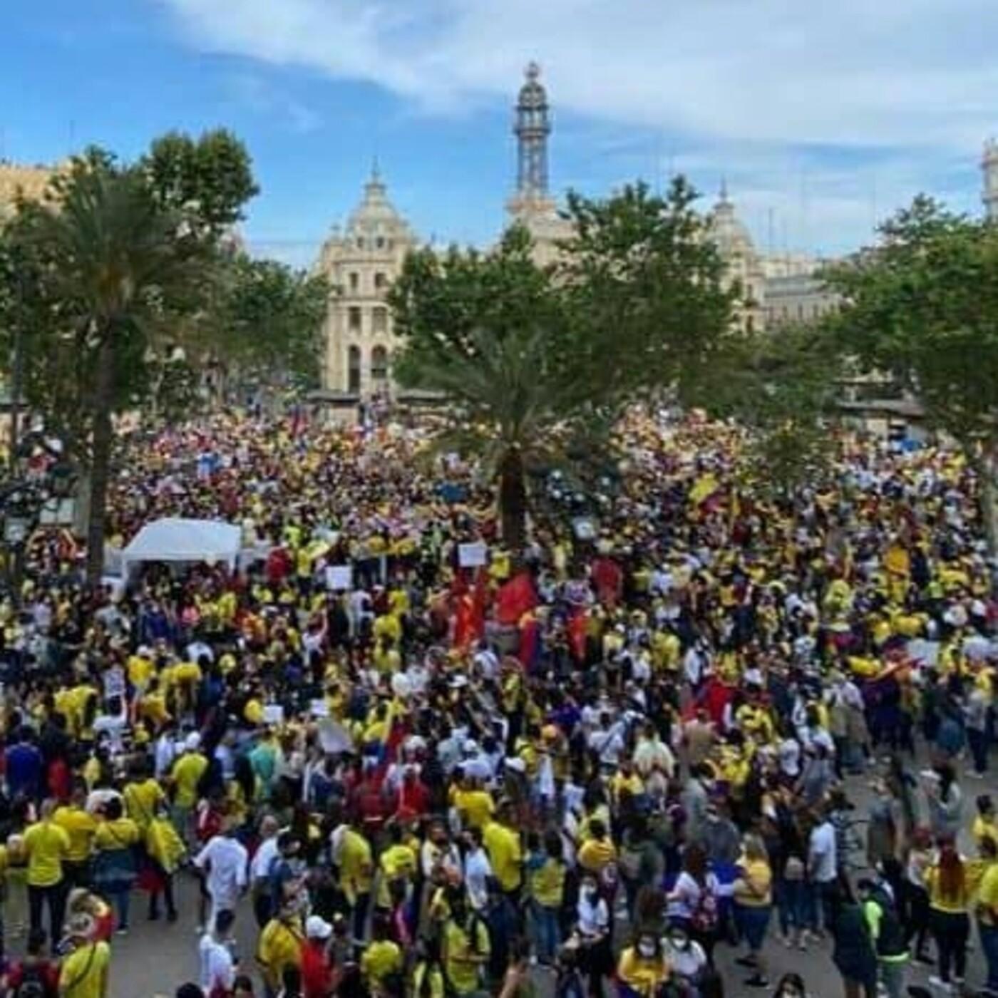 Movilización social y protestas en Colombia Parte II: Aunque estemos lejos, estamos con ustedes.