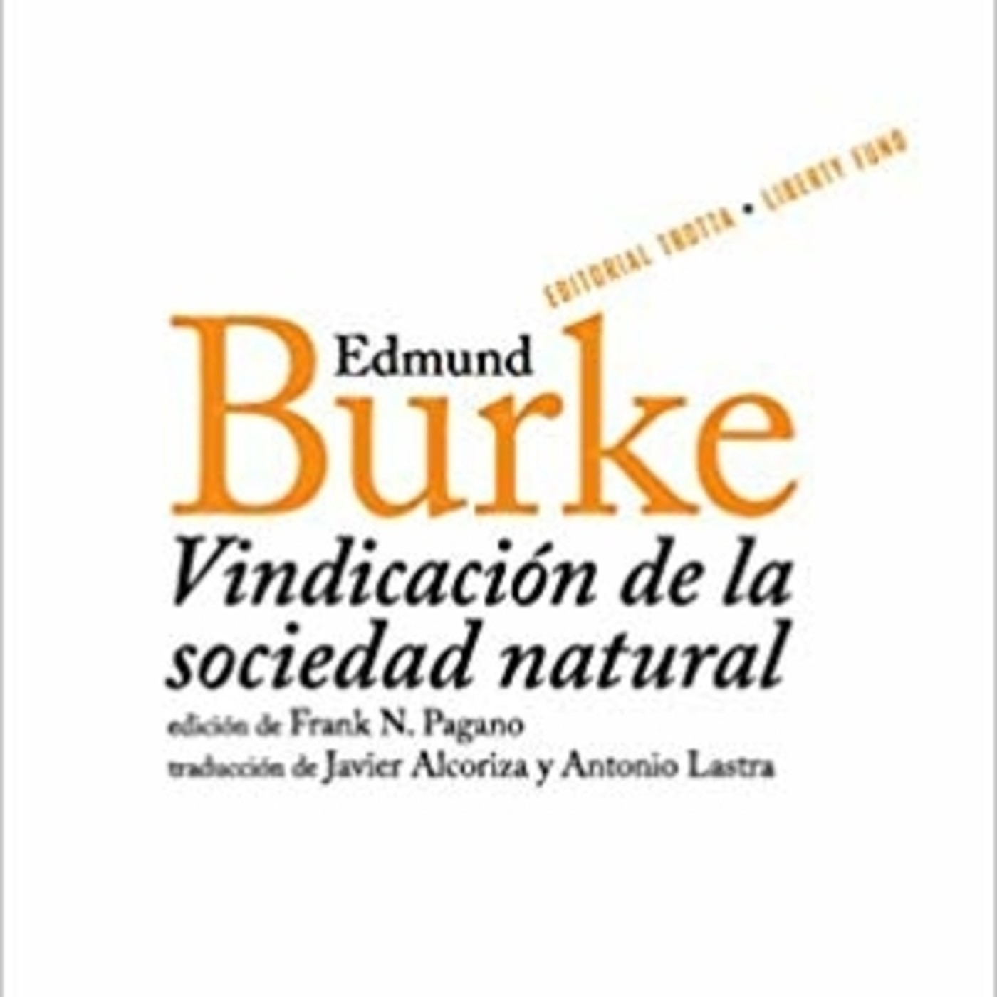 ¿sociedad civil=esclavitud? - Burke 1756