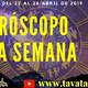 Horóscopo semanal del 22 al 28 de Abril (14 - 2019) - Lunes 22 Abril - 12 M (-5 GMT)