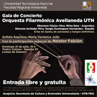 Entrevista con el Director de Orquesta Sergio Domínguez y la Directora de la Filarmónica Mirta Soto.