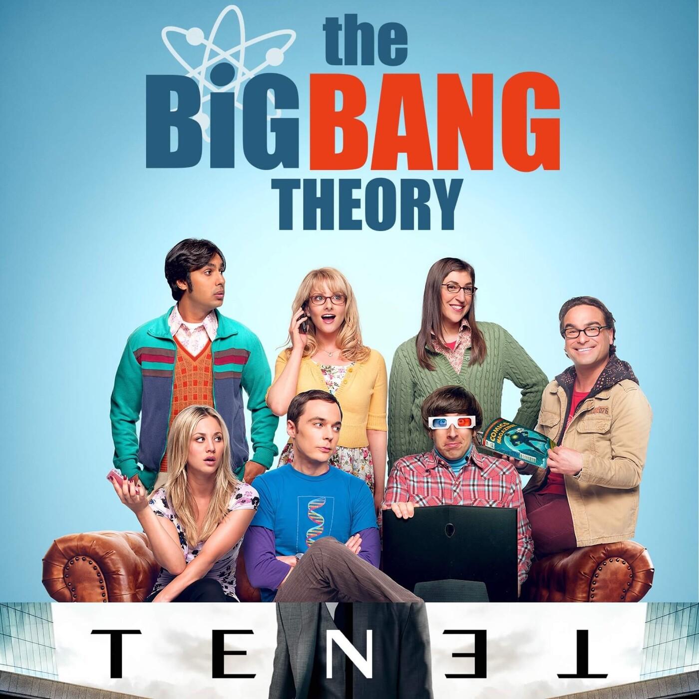 Ningú no és perfecte 20x02 - The Big Bang Theory i Tenet