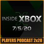 PP 2x28. Repasamos el Inside Xbox Mayo, Jugamos al X Cloud y mucho más...