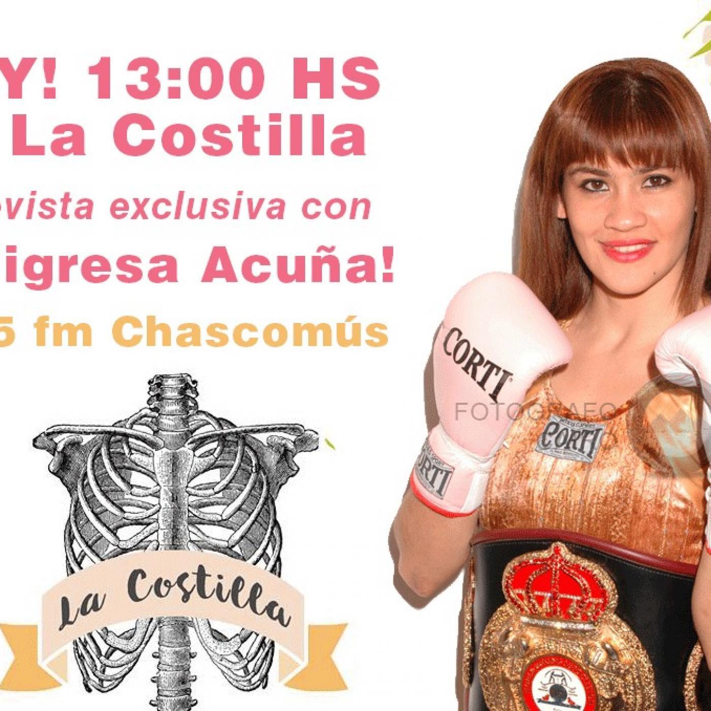 Marcela Tigresa Acuña La Costilla 24 De Mayo 2016 En Marcela