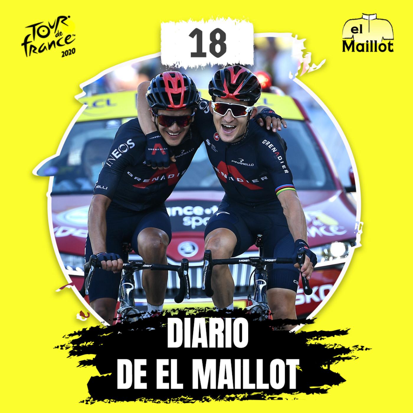 Diario El Maillot | Tour de Francia 2020: 18ª etapa