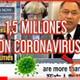 #coronavirus llega al gobierno chino millones contaminados