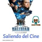Valerian Saliendo del Cine