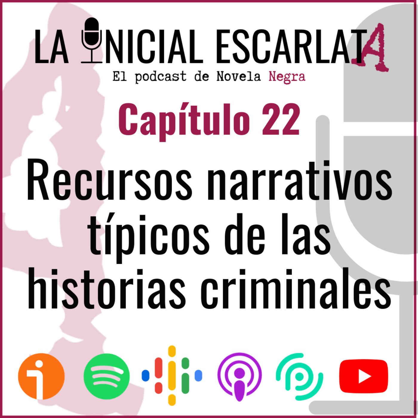 Capítulo 22: Recursos narrativos típicos de las historias criminales