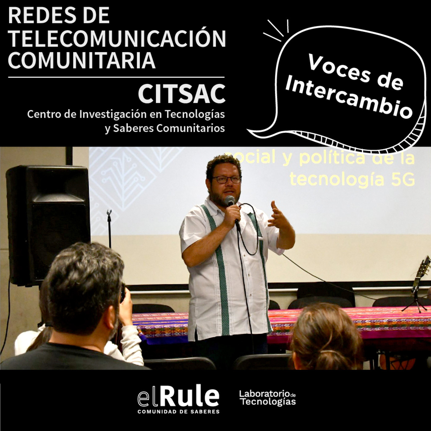 Voces de intercambio   CITSAC   Redes de telecomunicación comunitaria