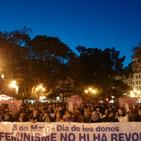 Manifestación día de la mujer trabajadora en Valencia