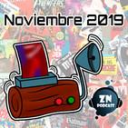 ZNPodcast #56 - Reseñotrón noviembre 2019