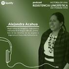 Alejandra Acahua Zopiyactle | Historia de una resistencia lingüística