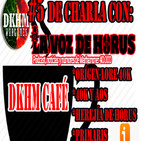 PODCAST I DKHM Cafe #5 I De Charla con LA VOZ DE HORUS I Introducción al Lore de 40K