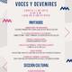 Programa Voces y Devenires | 11 de Agosto