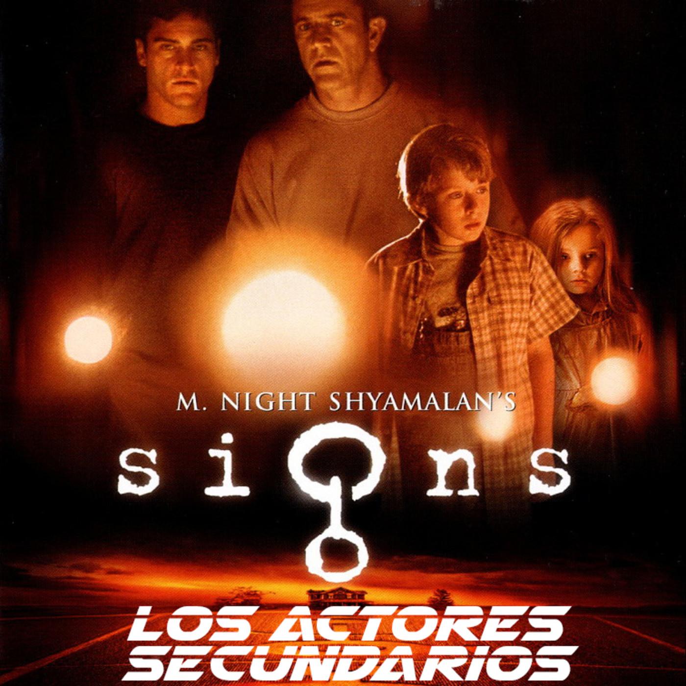 1x02 Señales - LOS ACTORES SECUNDARIOS PODCAST