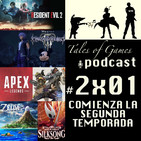 Comienza la segunda temporada - TALES OF GAMES PODCAST 2x01