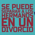 ¿Se puede separar a los hermanos en un divorcio?