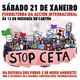 Concentración #StopCETA