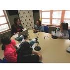 Los niños y niñas de 3 del CEIP Azahares entrevistan a Raquel Vega