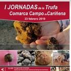 La asociación de truficultores de Zaragoza presentes en las primeras jornadas comarcales de la Trufa