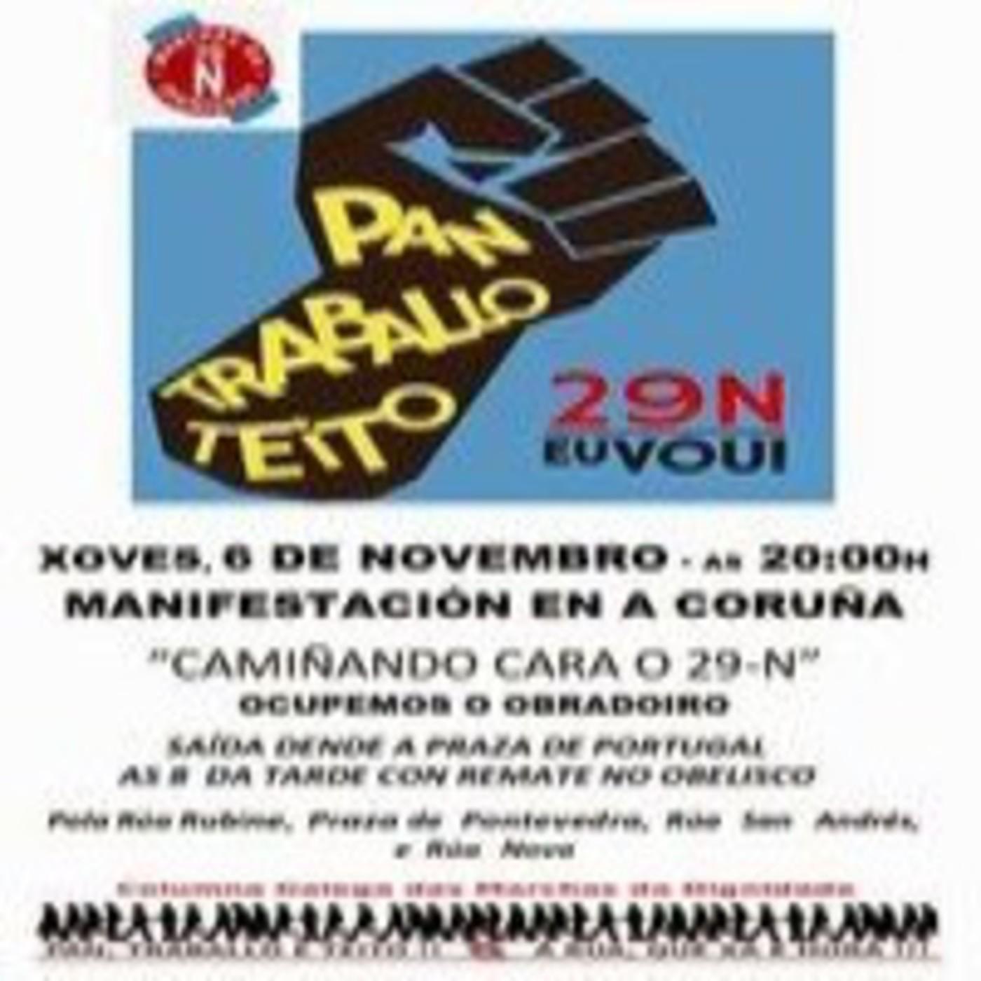 Xxxii trankimagazine:Última concentraciÓn contra el desalojo en elviÑa.marchas da dignidade del 29 n y rock de ponzoÑa