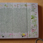 Texto contraportada libro: Bienaventurada la maleza porque ella te salvará la cabeza.