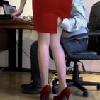 La secretaria cachonda